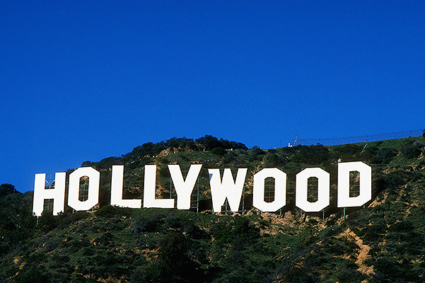 Hollywood, Los Angeles, California, USA --- Hollywood Sign --- Image by © Robert Landau/CORBIS