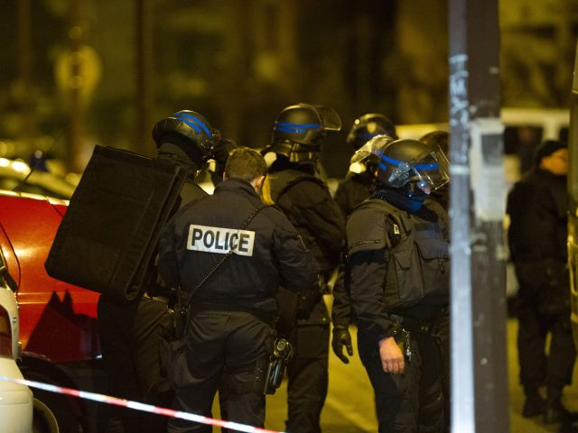 TOULOUSE, FRANCE - MARCH 22:  Police officers and response teams continue to surround a property during an operation to arrest 23-year-old Mohammed Merah, the man suspected of killing seven victims including three children in separate gun attacks in the early hours of March 22, 2012 in Toulouse, France. Two officers were injured as police surrounded the gunman at a property early on Wednesday morning and the siege has now entered a second day with gunfire and explosions heard at stages throughout the night. (Photo by Getty Images)