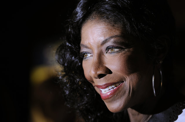 Singer Natalie Cole is interviewed after the 14th Annual Latin Grammy Awards nominations press conference at Avalon on Wednesday, Sept. 25, 2013 in Los Angeles. The 14th Annual Latin Grammy Awards will be held on Thursday, November 21 at Mandalay Bay Events Center in Las Vegas. (Photo by Chris Pizzello/Invision/AP)