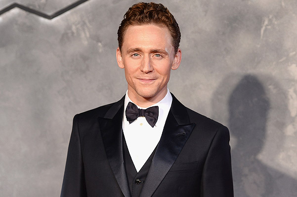 """LONDON, ENGLAND - OCTOBER 22:  Tom Hiddleston attends the World Premiere of """"Thor: The Dark World"""" at Odeon Leicester Square on October 22, 2013 in London, England.  (Photo by Ian Gavan/Getty Images)"""