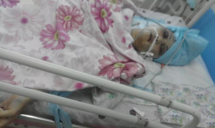 баян есентаева в больнице фото