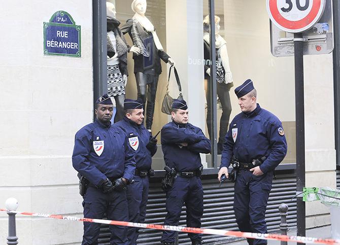 Manhunt After Paris Shootings