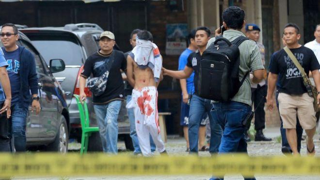 Виндонезийской церкви задержали сторонникаИГ при попытке совершить теракт