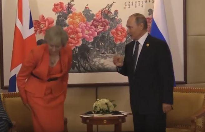 """Мэй дала понять Путину, что """"бизнеса в обычном режиме"""" не будет, - The Times - Цензор.НЕТ 1013"""