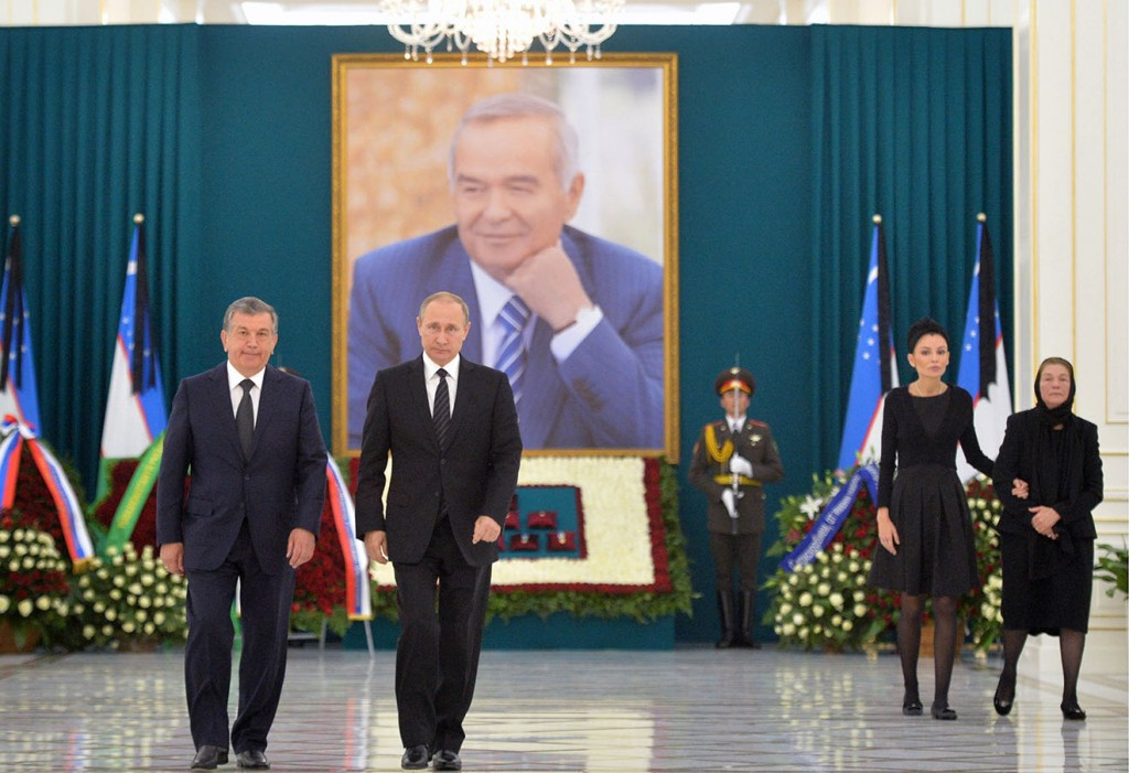 Russian President Putin visits Uzbekistan