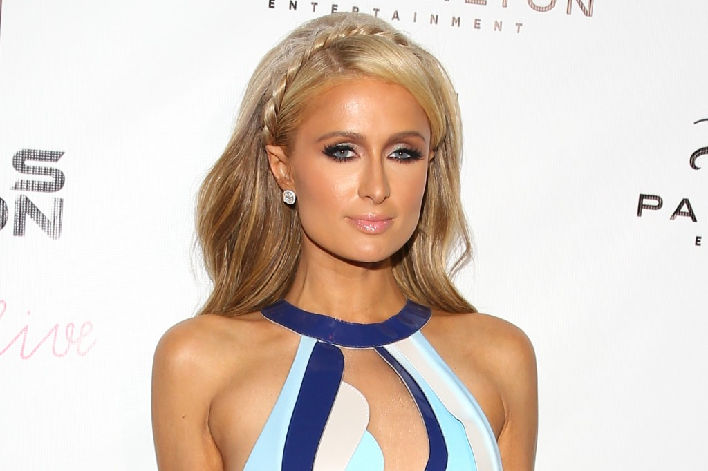 WEST HOLLYWOOD, CA - JULY 10: Paris Hilton attends her new single