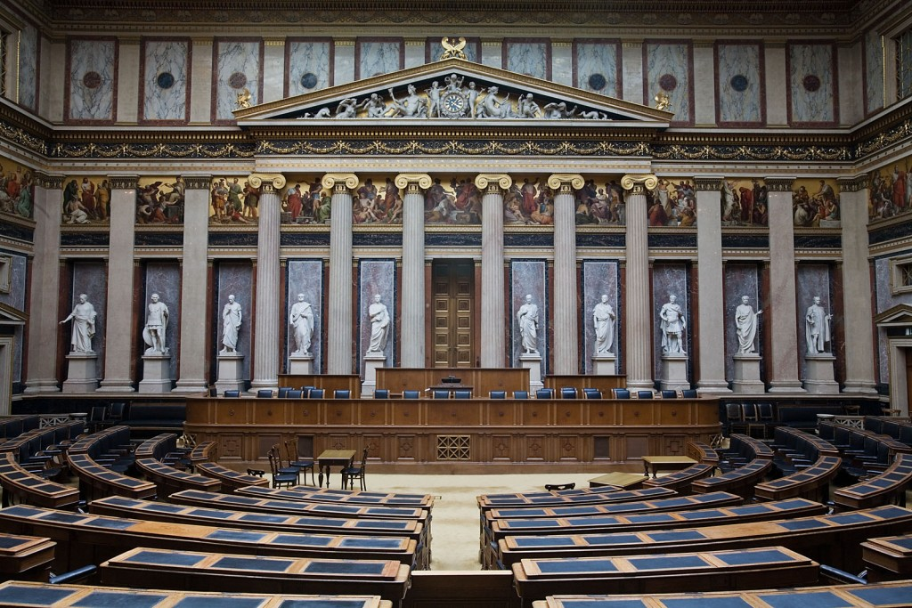 Parlament. Vienna, Austria