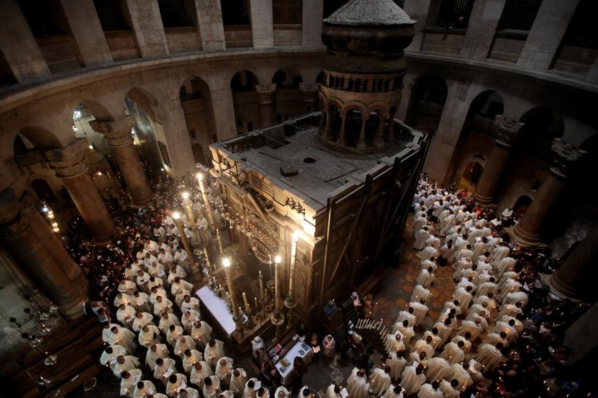ISRAEL-PALESTINIAN-JERUSALEM-RELIGION-CHRISTIANITY-EASTER