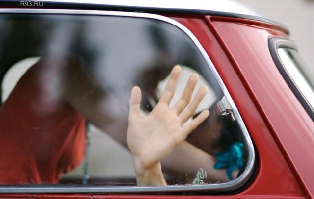 Секс бывших супругов в машине