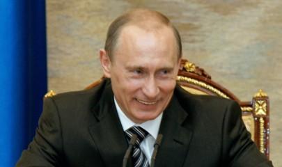ITAR-TASS 47: MOSCOW, RUSSIA. MAY 4. Russia's outgoing president Vladimir Putin reacts at a meeting of the Russian Security Council in Moscow's Kremlin. (Photo ITAR-TASS / Vladimir Rodionov)  47. Ðîññèÿ. Ìîñêâà. 4 ìàÿ. Ïðåçèäåíò Ðîññèè Âëàäèìèð Ïóòèí íà ñîâåùàíèè ñ ÷ëåíàìè Ñîâáåçà ÐÔ â Êðåìëå. Ôîòî ÈÒÀÐ-ÒÀÑÑ/ Âëàäèìèð Ðîäèîíîâ