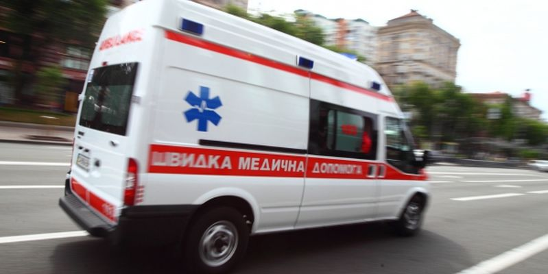 Opening of the fifth Ukrainian championship among teams of emergency medical services in Kyiv.