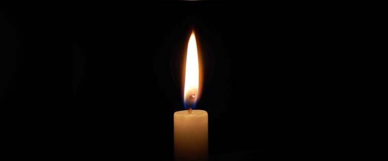 свечка-траур