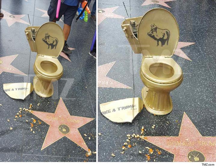 0507-donald-trump-star-vandalized-again-golden-toilet-tmz-6
