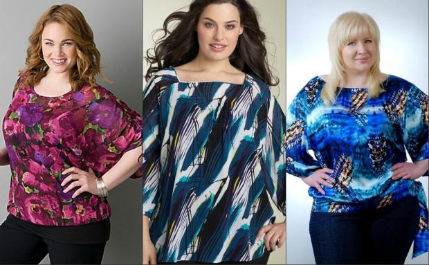 Летние блузки для полных женщин