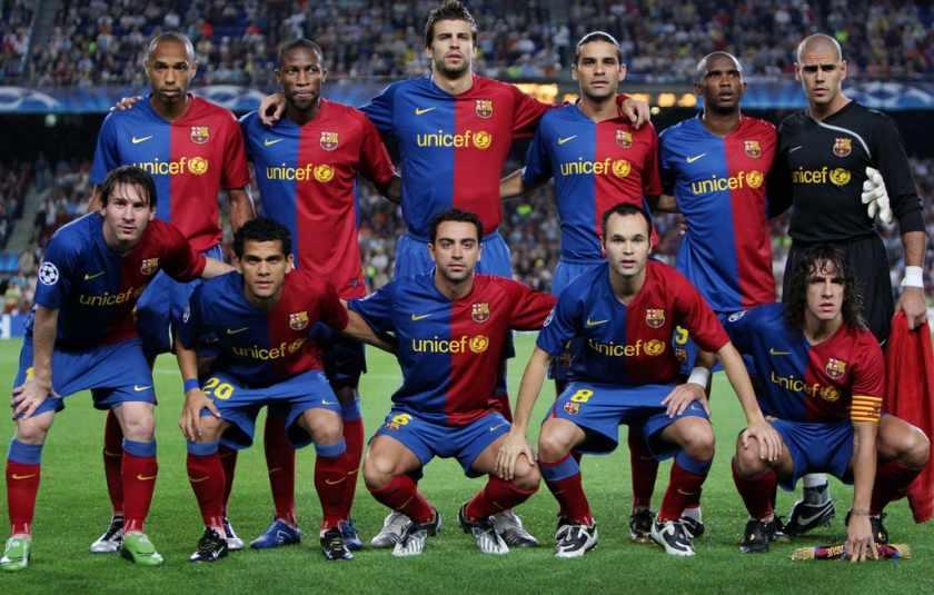 Барселона величайший клуб всех времен