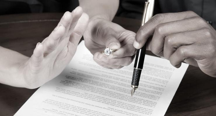 Развод без согласия - только через суд